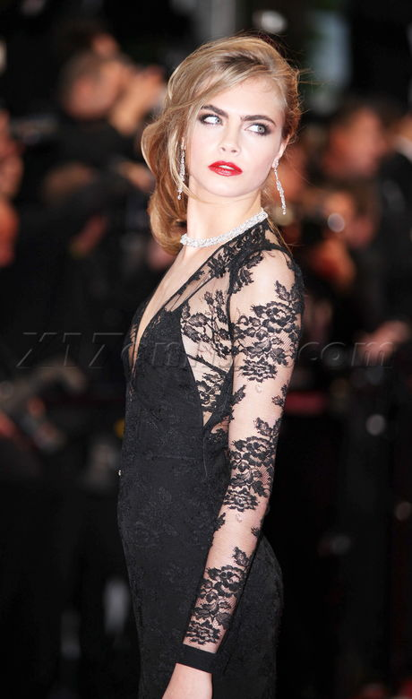 USA-AUS ONLY Cara Delevingne attends the Opening Ceremony and Premiere of 'The Great Gatsby'