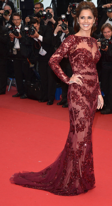 cheryl cole lace cannes