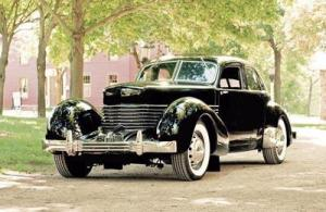 Howard Payne's '37 Cord is an example of the cars that will be shown at the Northville Annual Concours d'Elegance Preview Event and Rare Car Exhibit , 3 to 9 p.m. Saturday, July 27. Courtesy Photo