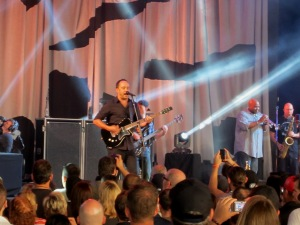 Dave Matthews Band performed at DTE Energy Music Theater in Clarkston Tuesday, July 9.