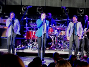 Jesse McCartney opened  for the Backstreet Boys at DTE, performing new songs as well as his older pop hits. Stephanie Sokol/The Oakland Press