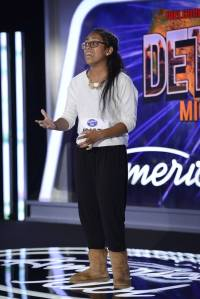 "Southfield resident Malaya Watson sang ""Ain't No Way"" for her American Idol Season 13 audition. Watson will advance to the next round. Photo/FOX"