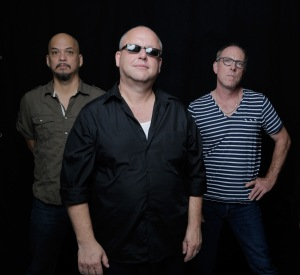 FROM LEFT: Joey Santiago, Black Francis, David Lovering. Photo/PIXIES