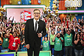 Daytime Emmy Award-winning game show THE PRICE IS RIGHT, hosted by Drew Carey, daytime's #1-rated series and the longest-running game show in television history, celebrates its milestone 8,000th episode, Monday, April 7 (11:00 AM-12:00 Noon, ET; 10:00-11:00 AM, PT) on the CBS Television Network.  Photo: Monty Brinton/CBS
