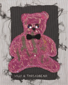 One of Frank's works, Willy B. Threadbear.