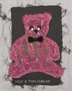 One of Frank's works, Willy B. Threadbear.